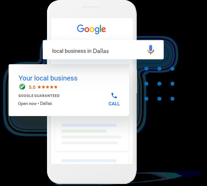 google local service ads Dallas